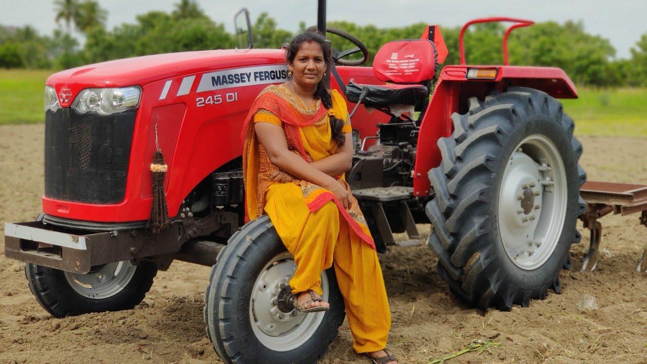 MF 241DI Tractor smart series vs Village Tractor Girl | Come to Village