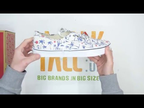 Vans Authentic - Hula Stripes / White - Walktall | Unboxing | Hands on