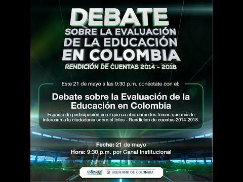 Debate sobre la evaluación de la educación en Colombia