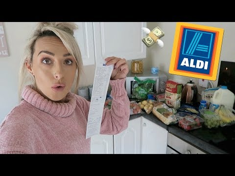 ALDI €40 WEEKLY SHOP FOR 2 HEALTHY FOOD & MEAL IDEAS | SHOP ON A BUDGET