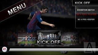 FIFA 13 Start Menu Concept Speed Art