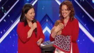 America's Got Talent 2017 Funniest Weirdest Worst Auditions Part 1