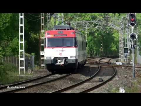 TRAINSPOTTING (VOL. 957) Trenes renfe en Mayo de 2018 (UHD 4K).