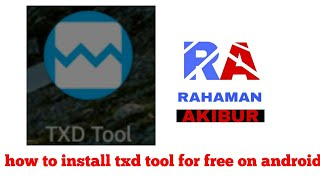 Gambar cover How to download txd tool for free on android