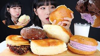 역대급 슈크림빵 약수역 빵굼터 빵 먹방 ASMR MUK…