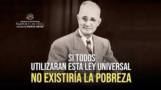 Napoleon Hill: No Habrá Pobreza en tu Vida SI USAS ESTA LEY UNIVERSAL ¡Transforma tu realidad ahora!