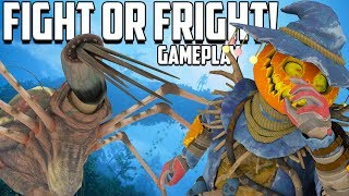 Apex Legends Fight or Fright Gameplay! Insane New Halloween Shadowfall Game Mode!