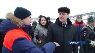Готовность крещенского городка проверил глава Барнаула Сергей Дугин