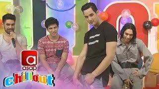 ASAP Chillout: ASAP Coverboys show their trademark poses