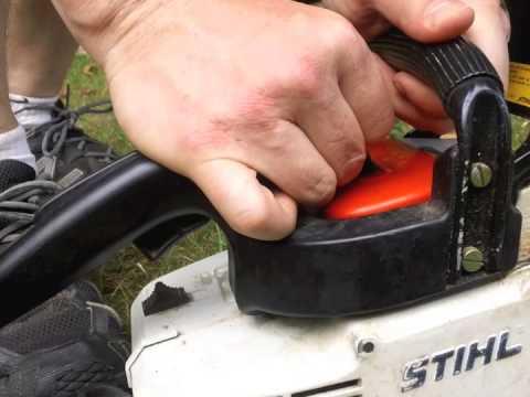 STIHL 011 AVT Chainsaw Problem
