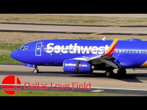 Plane Spotting In Dallas Love Field Airport (KDAL/DAL) - Southwest Airlines' Hometown Airport