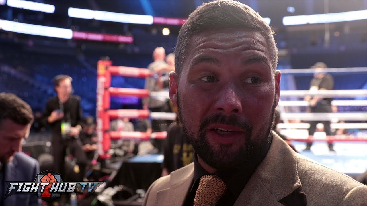 "TONY BELLEW WILLING TO FIGHT MICHAEL BISPING IN CAGE ""I D"