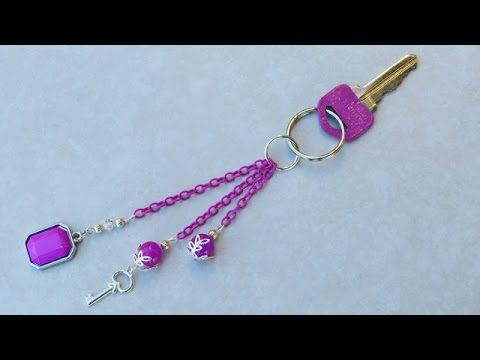 How to Make a Beaded Key Chain