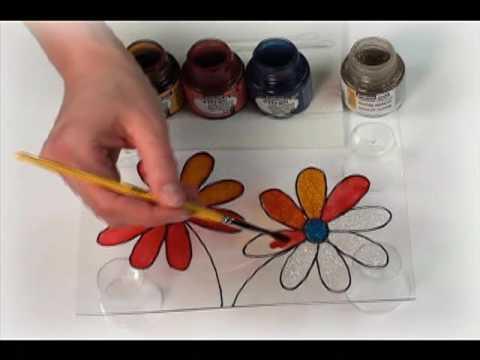 Dvd techniques de faux vitrail 1 www for Faux vitrail sur miroir