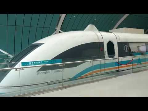 Shanghai Maglev Full Ride with Speedo - 4K