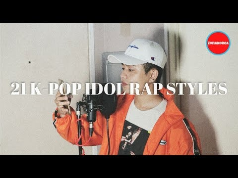 21 K-POP IDOL RAP STYLES BI JACKSON SUGA ZELO CHANGBIN AND MORE  by Dicky