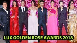 Lux Golden Rose Awards 2018 FUll SHOW Red Carpet   Shahruk,Kareena,Akshay,Alia,Tiger,Rekha,