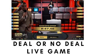 Deal or No Deal Live Game - Online Casino Games in South Africa