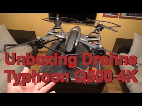 Unboxing Drohne Typhoon Q500 4K
