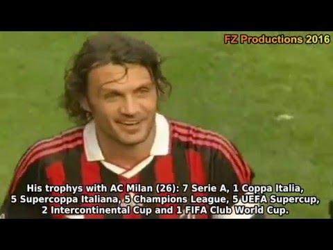 Paolo Maldini - 29 goals in Serie A (Milan 1984-2009)