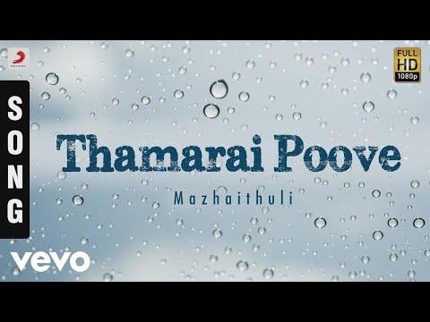 Mazhaithuli - Thamarai Poove Tamil Song   Mano