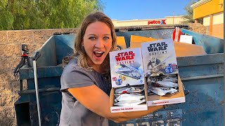 DUMPSTER DIVING- LOOK WHAT SHE FOUND AT GAMESTOP!