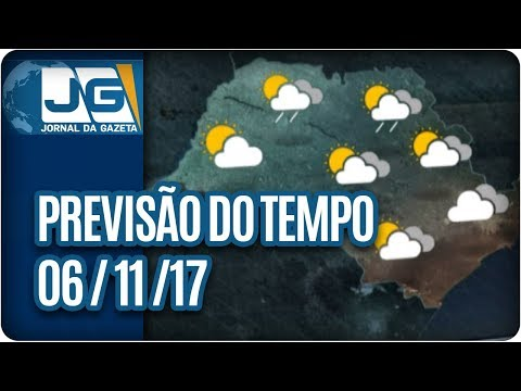 Previsão do Tempo - 06/11/2017