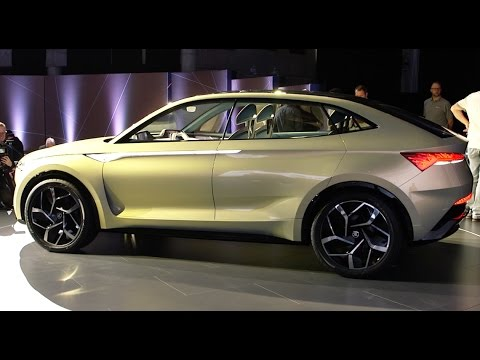 Škoda vision d concept car 2018