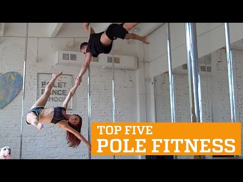 TOP FIVE POLE FITNESS | PEOPLE ARE AWESOME