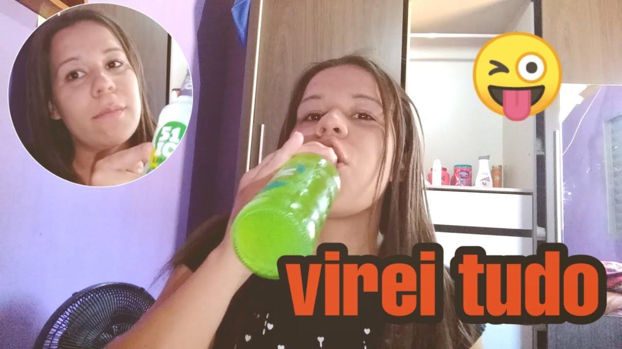 FUI DESAFIADA A VIRA UMA GARRAFA DE ICE 51 !!