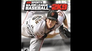 Major League Baseball 2K9 - Xbox 360 2009 (NL Classics vs AL Classics Exhibition)
