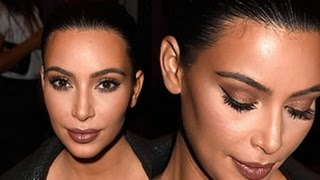 Kim Kardashian Makeup & Hair Tutorial | Givenchy Fashion Show Thumbnail