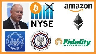 """NYSE Chairman """"Crypto Here to Stay"""" - Judge Stops SEC - Amazon Ethereum - Fidelity Crypto VC Fund"""