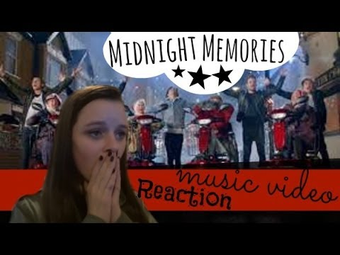 Midnight Memories Music Video Reaction! | MeganLovesBieber8 - YouTube
