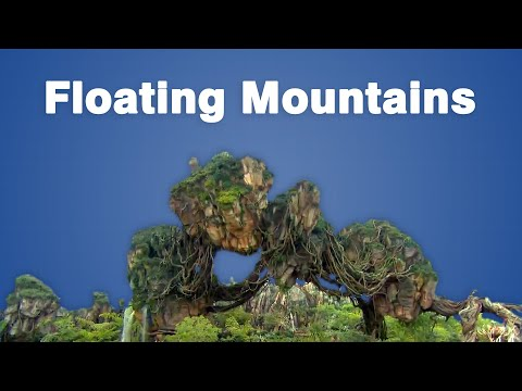 The Engineering Behind Disney's Floating Mountains of Pandora