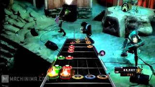 Guitar Hero Warriors Of Rock all the songs