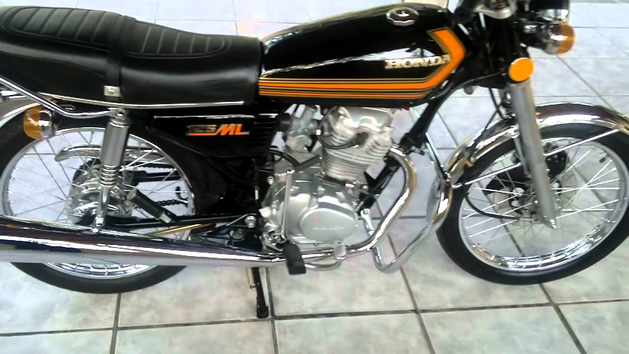 moto honda 125 ml 1978 n 1 youtube. Black Bedroom Furniture Sets. Home Design Ideas