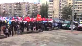Акція протесту проти фальсифікацій біля ЦВК