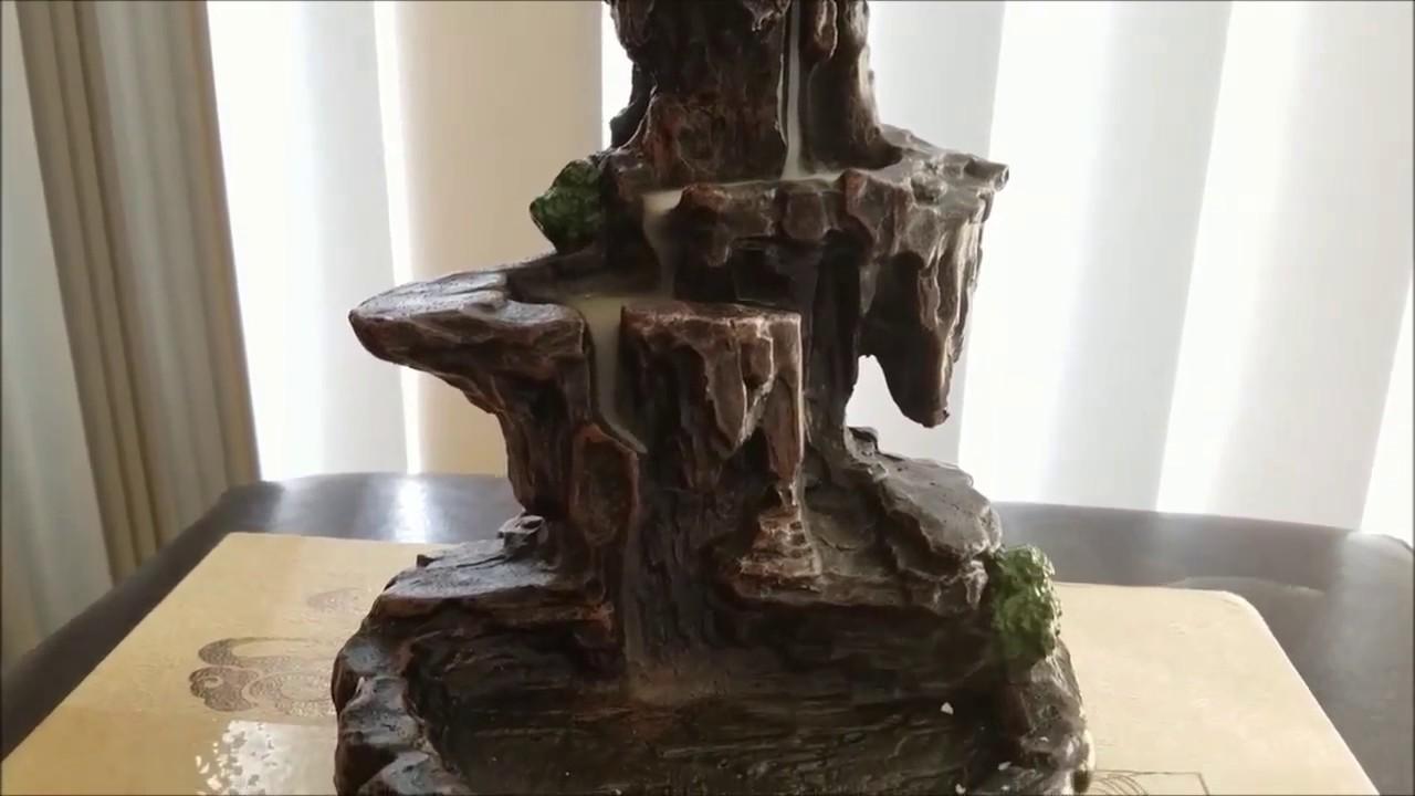 Zingyou Mountain Stream Backflow Incense Burner Youtube