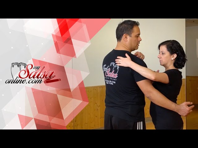 Hand Position When Leading & Following A Cross Body Lead In Salsa Dancing | Salsa On2 Tips