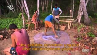 Serkay ve Efecan Balık Ağını Kestiler | Survivor 2016