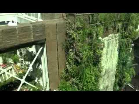 Los modernos jardines colgantes de babilonia youtube for Jardines modernos fotos
