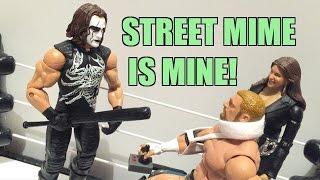 WWE ACTION INSIDER: STING Elite Defining Moments MATTEL Wrestling Figure Review