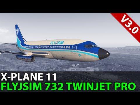 Slant Whiskey Overload, FlyJSim 732 TwinJet v3 Professional, PilotEdge ✈️ 2018-02-16