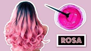 CREA TU TINTE ROSA CASERO TEMPORAL | Heyisalike ♥ thumbnail