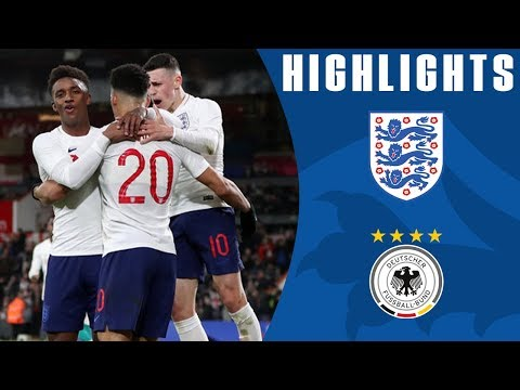 England U21 1-2 Germany U21   Controversial Late Goal Drama!   Official Highlights