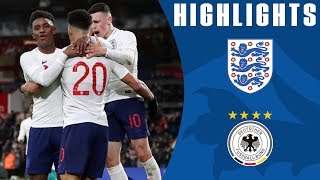England U21 1-2 Germany U21 | Controversial Late Goal Drama! | Official Highlights