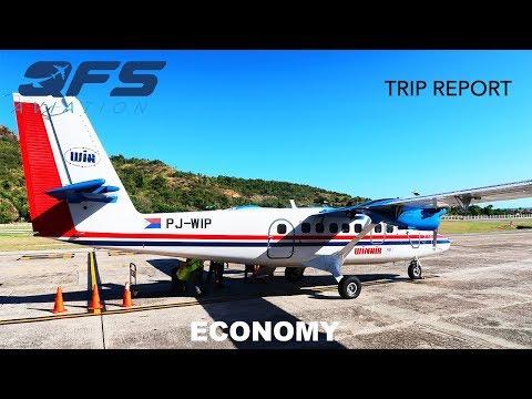 TRIP REPORT | Winair - DHC 6 Twin Otter - St. Maarten (SXM) to St. Barts (SBH) | Economy