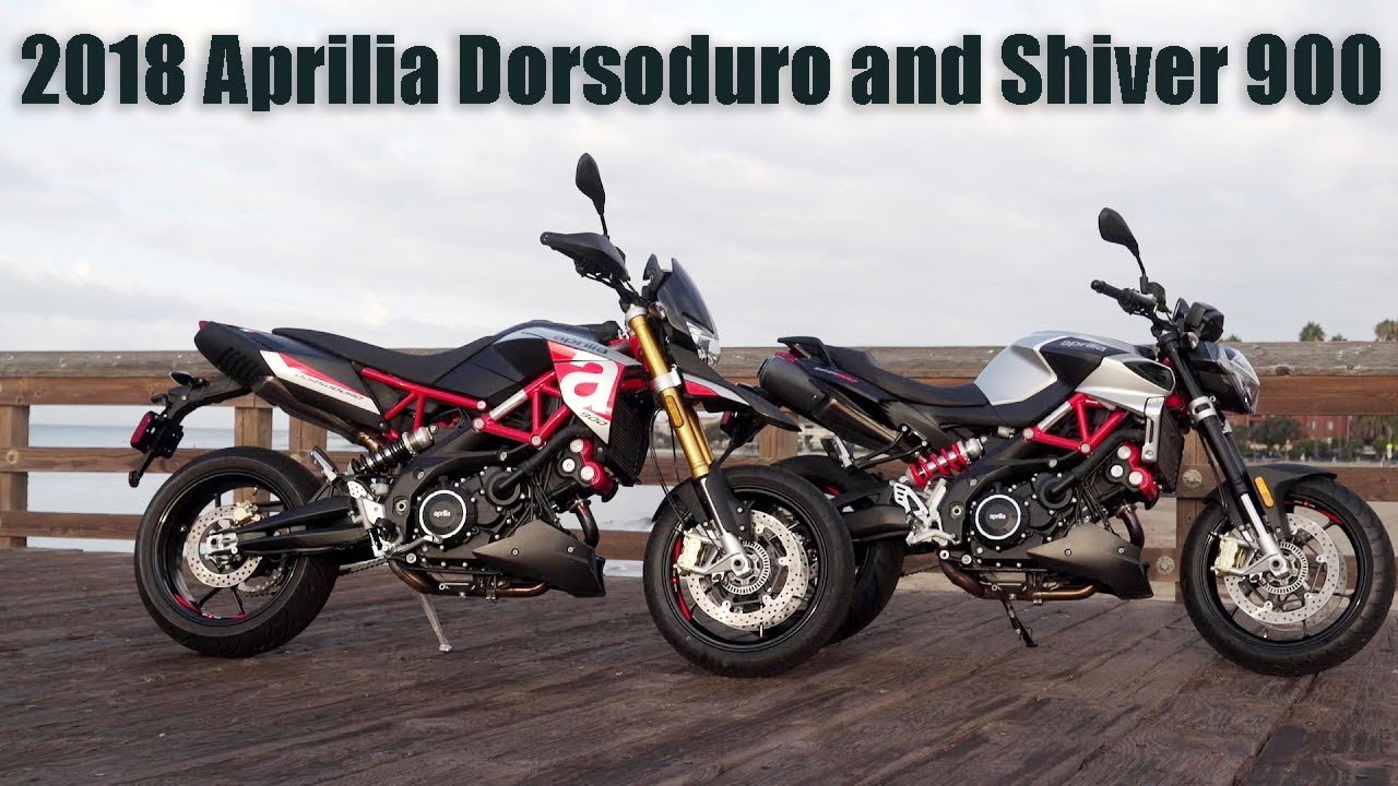 2018 aprilia shiver 900 and dorsoduro 900 review youtube. Black Bedroom Furniture Sets. Home Design Ideas
