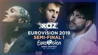 Eurovision 2019: Semi-final 1 (Recap of all songs)